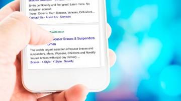 Google realiza novos testes com anúncios nos resultados mobile