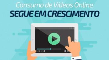 Consumo de vídeos online segue em crescimento