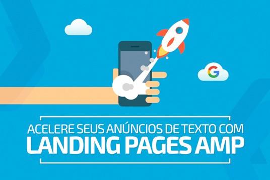 Páginas de Destino AMP para anúncios do Adwords
