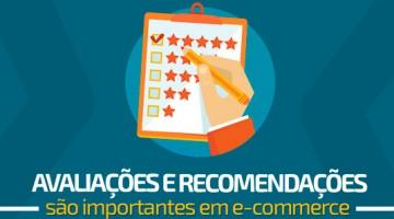 Avaliações e recomendações são importantes em e-commerce