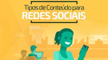 Tipos de conteúdo para redes sociais