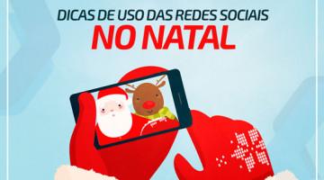 Dicas de uso das redes sociais no Natal
